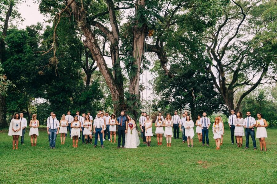 Casamento boho + colorido + divertido + emocionante – Raquel & Guilherme