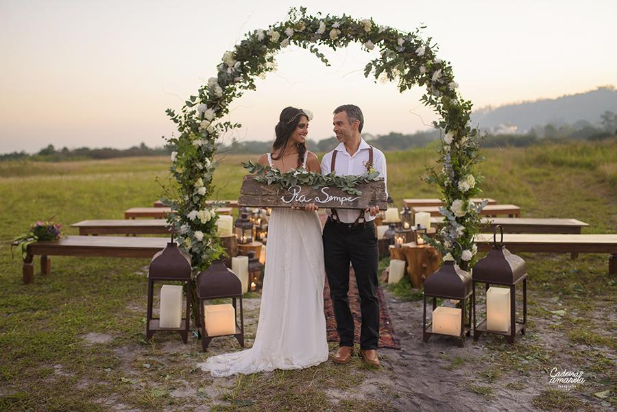 {SIMples} Produção Lápis de Noiva – Casamento Romântico + Boho