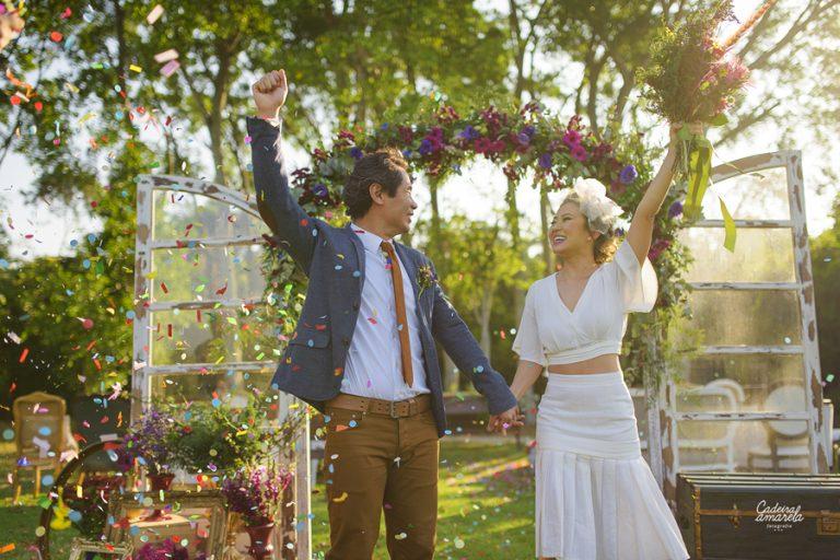{SIMples} Produção Lápis de Noiva: Casamento com personalidade