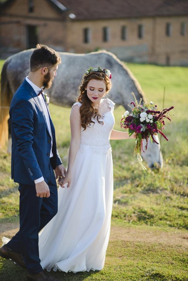 Casamento Boho-Rústico na Fazenda – Mel & Marcelo
