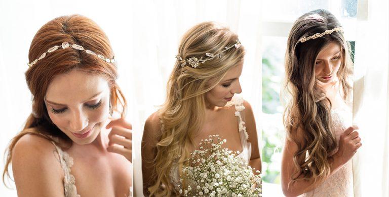 Acessórios lindos para cabelo – Coleção Lumière por D. Cantidio