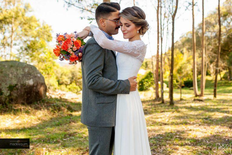 Casamento no campo realizado por amigos – Fran & Patrick