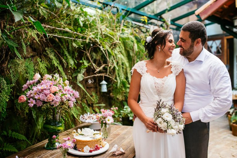 Casamento intimista na Quinta da Canta – Erica & Rafael