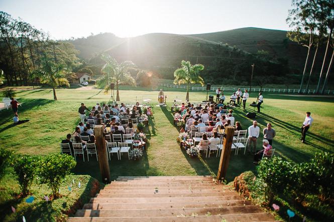Casamento cheio de amor ao pôr do sol – Flavia & Denis