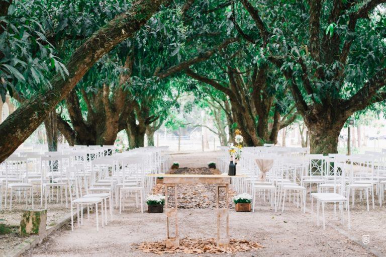 Casamento DIY em meio à natureza – Camila & Carlos