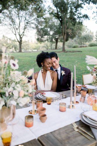festa de casamento com brunch