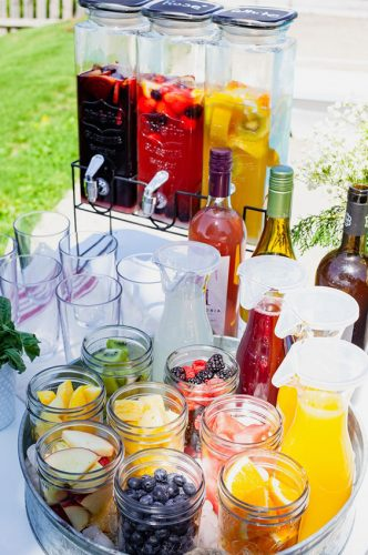 welcome drinks casamento tipo brunch