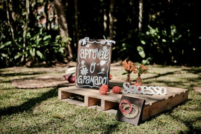 Casamento leve, divertido e DIY – Camila & Hell