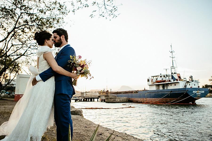 Casamento ao pôr do sol no Museu do Vale – Carol & Vitor