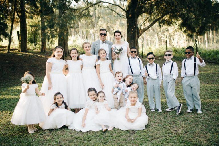 Casamento Retrô no Campo – Claudia & João