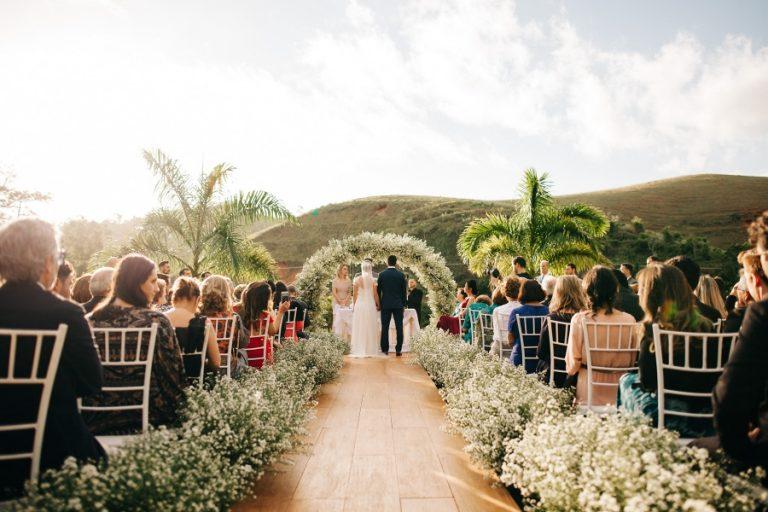 Casamento Romântico com Significado na Fazenda – Karol & Ricardo