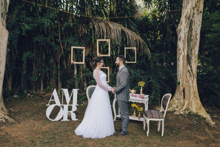 Casamento Vintage-Rústico – Thalita & Bruno
