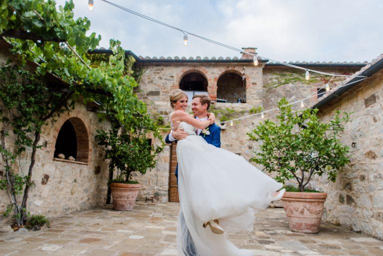 Casamento encantador na Toscana – Matt & Anni