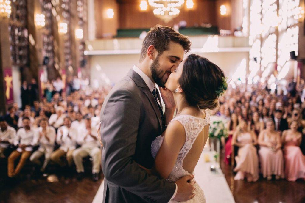 Casamento de Dia na Igreja – Camila & Neto