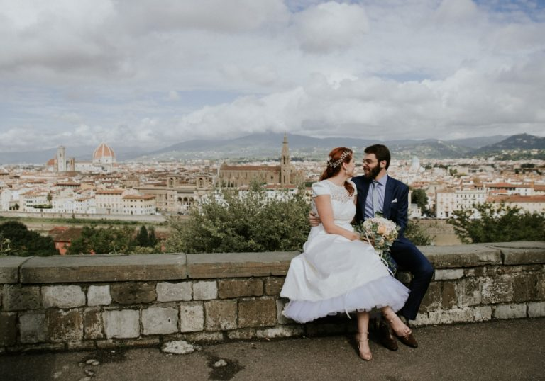 Destination Wedding em Florença – Carolina & Thiago