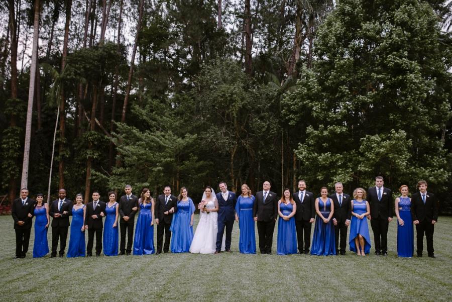 Casamento Rosa + Azul na Fazenda – Priscila & Michael