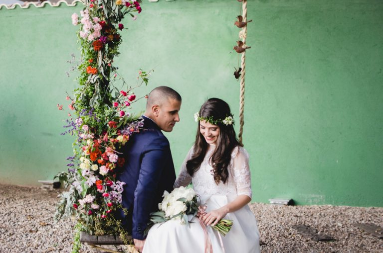 Casamento Colorido na Ilha da Gigóia – Luize & Farney