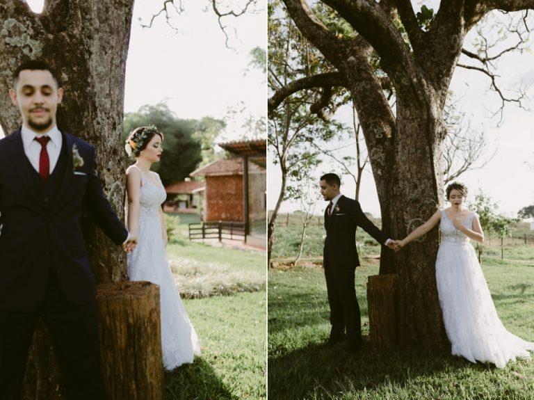 O Amor Floresceu – Casamento Criativo em Goiânia da Branna + Rafael
