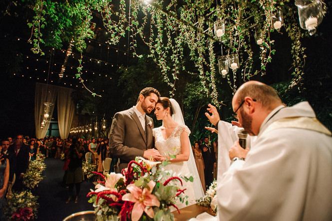 Casamento Romântico-Florido de Noite – Fernanda & Rafael
