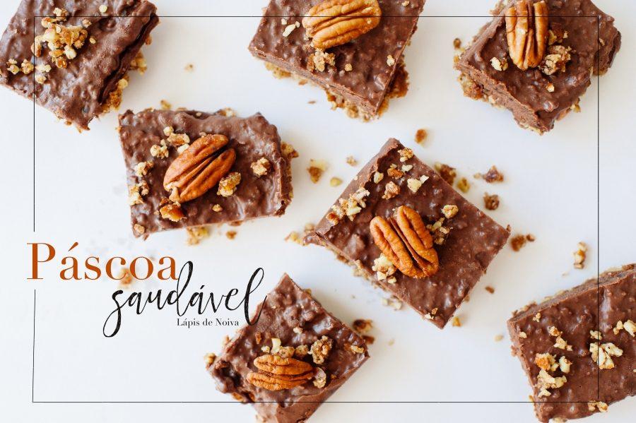Torta de chocolate crocante (e saudável) – Vida de Casada