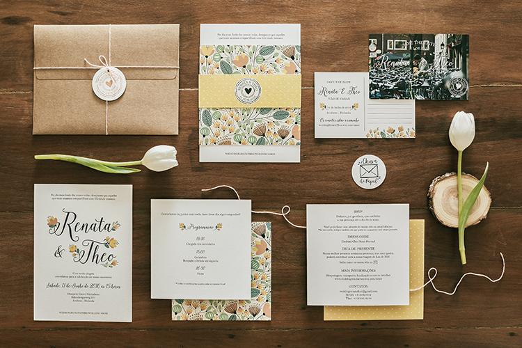 Chuva de Papel: Papelaria de Casamento Criativa e Personalizada