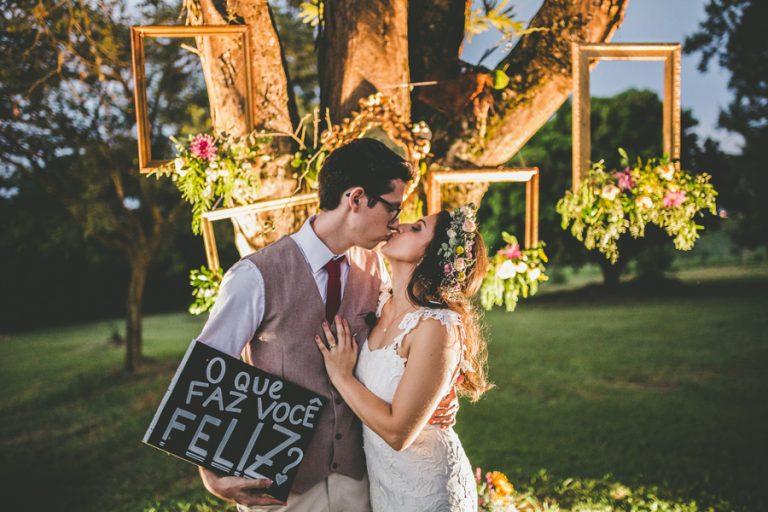 Casamento Boho-Vintage no Campo – Mariana & Thiago