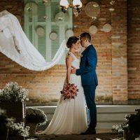 Casamento Rústico-Chique no Casarão La Villa – Karine & Guilherme