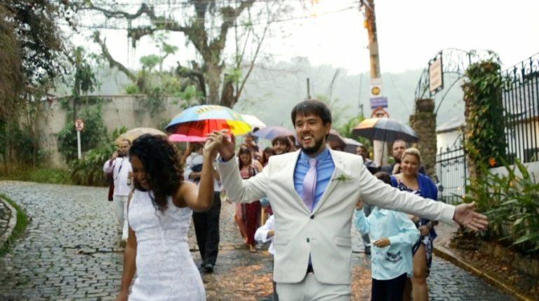 """""""Somos um só"""" – Destination Wedding com Chuva e MUITO amor em Paraty Laís & Felipe"""
