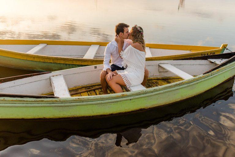 Ensaio pré-casamento em clima praiano – Ana & Vini