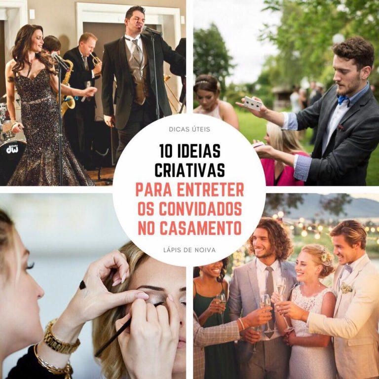{Dicas Úteis} 10 ideias criativas para entreter os convidados no casamento
