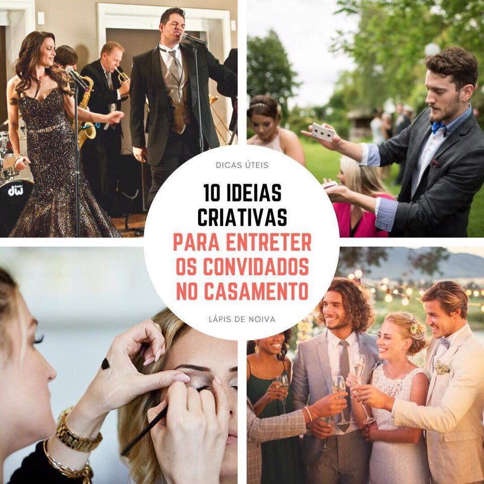 a0805304000d 10 dicas para entreter os convidados no casamento