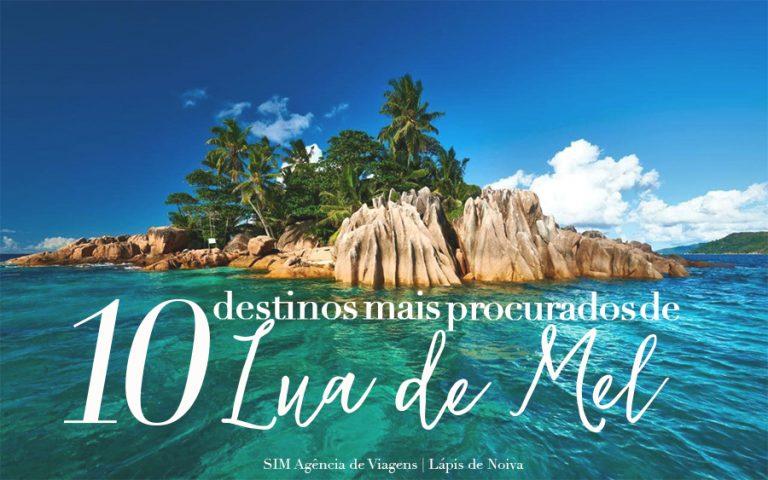 10 destinos de LUA DE MEL mais procurados pelos noivos brasileiros