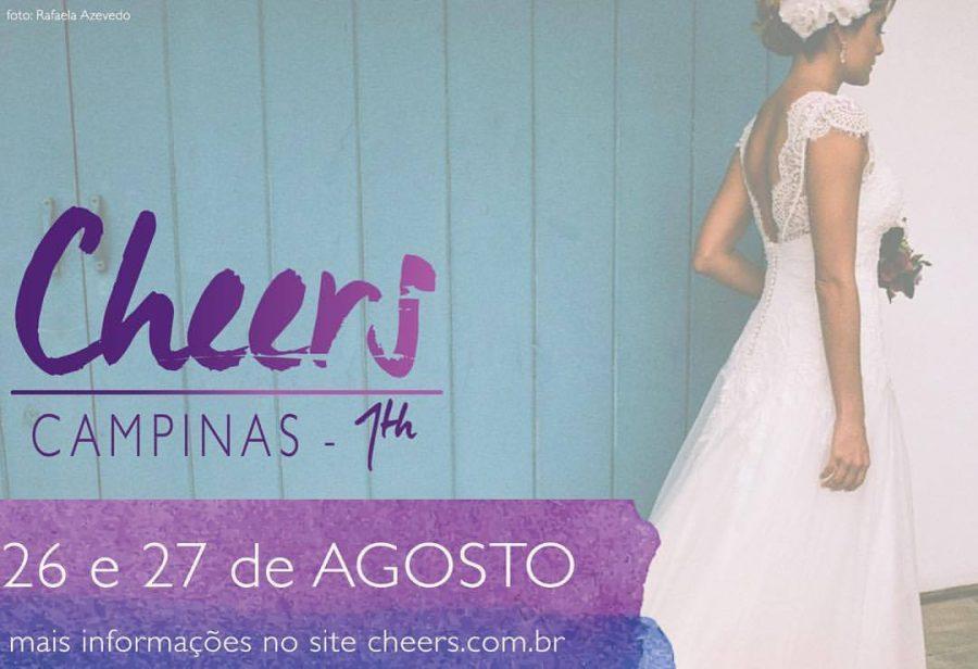 Evento Cheers em Campinas – Tudo para o seu casamento! :)