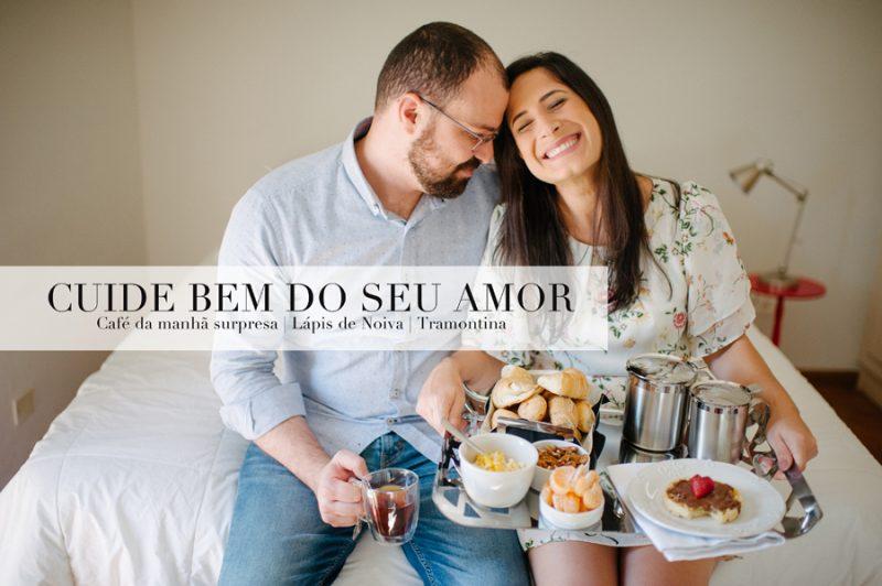 {Vida de Casada} Cuide bem do seu amor – café da manhã surpresa durante a semana