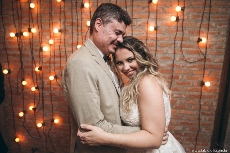 Casamento Industrial e cheio de Detalhes – Marília e André