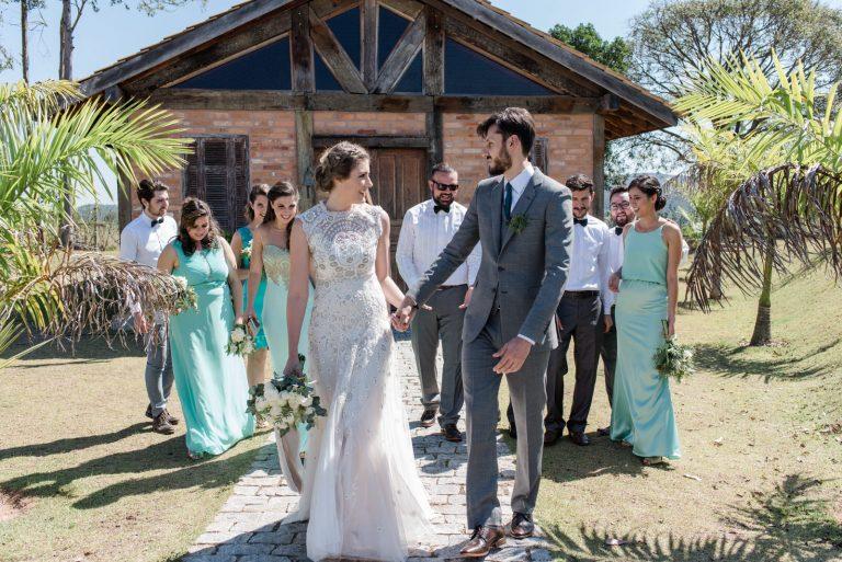 Casamento Rústico + Greenery + Atemporal – Ingrid & Érico