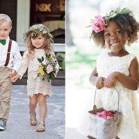 Daminhas e Pajens: para encantar no casamento!