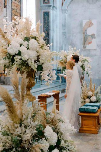 decoração casamento na igreja