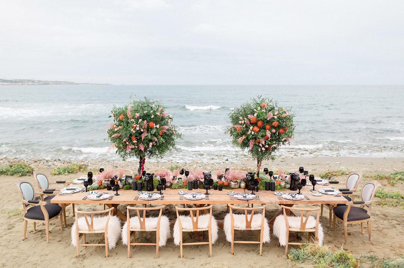 decoraçao de casamento na praia