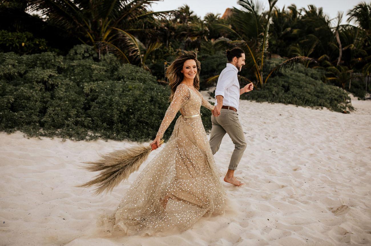 o que significa casar na praia