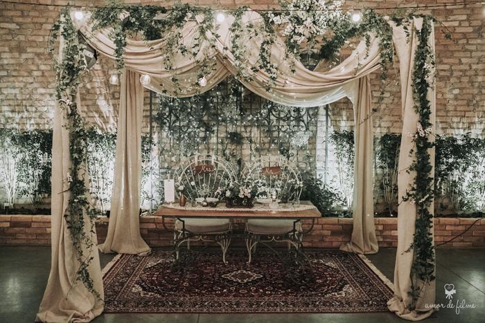 Clássico na cerimônia e Boho na festa – Casamento Milene e Felipe