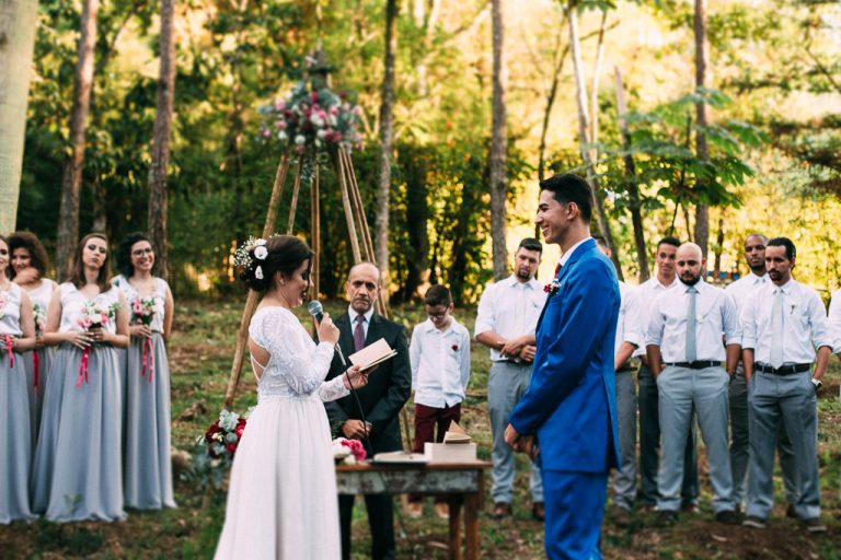 Forest Wedding no Paraná – Pri e Ton