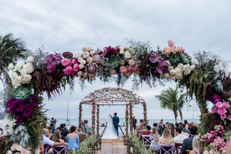 Muitas Flores na Praia – Fabi e Leo