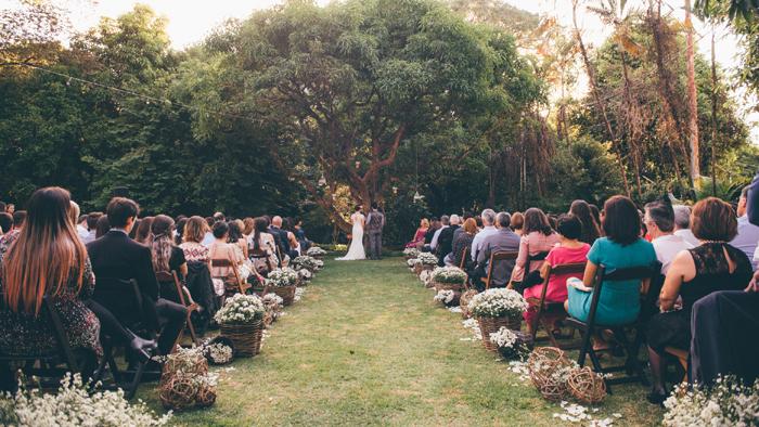 Casamento aconchegante Rebeca & Daniel