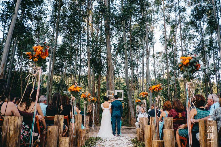 Casamento Colorido na Floresta – Ju e Filipe