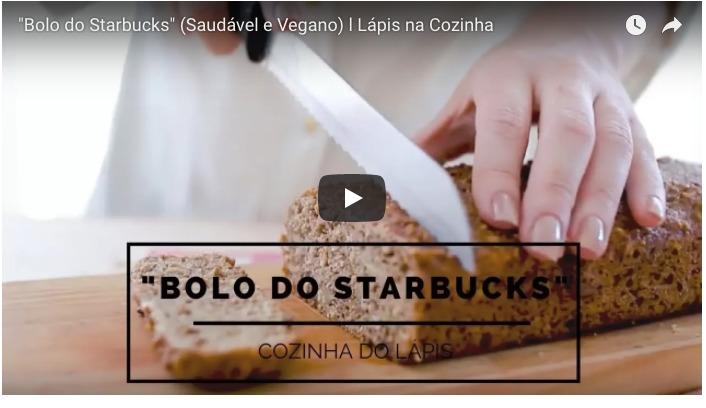 """{Vida de Casada} """"Bolo do Starbucks"""" (Saudável e Vegano)"""