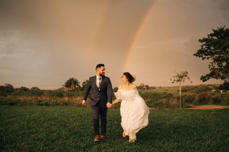 Depois da Chuva, Arco-Íris de Presente – Casamento Dianny e Lucas