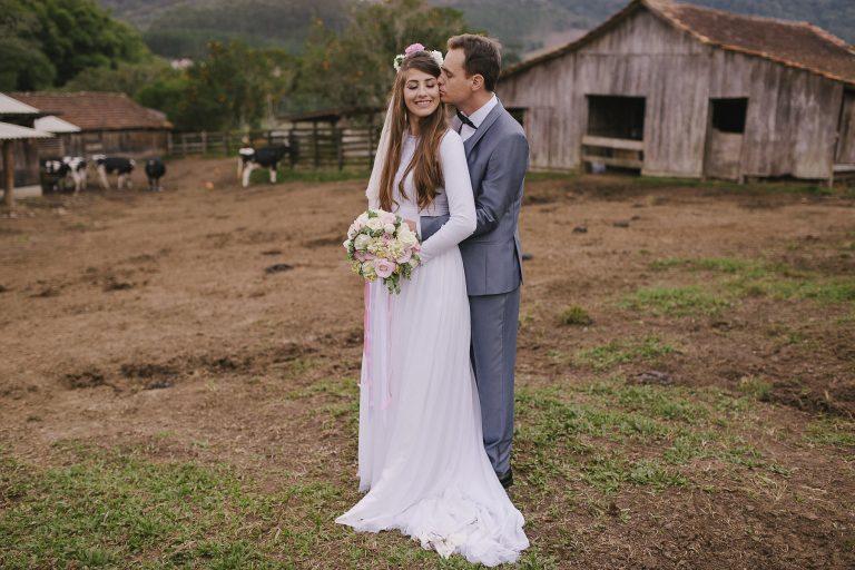 No Celeiro do Sítio – Casamento em Santa Catarina Letícia e Luís