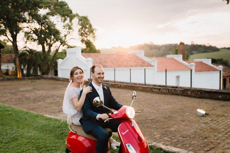 De Mountain Bike para o Altar – Casamento encantador Juliana e Felipe