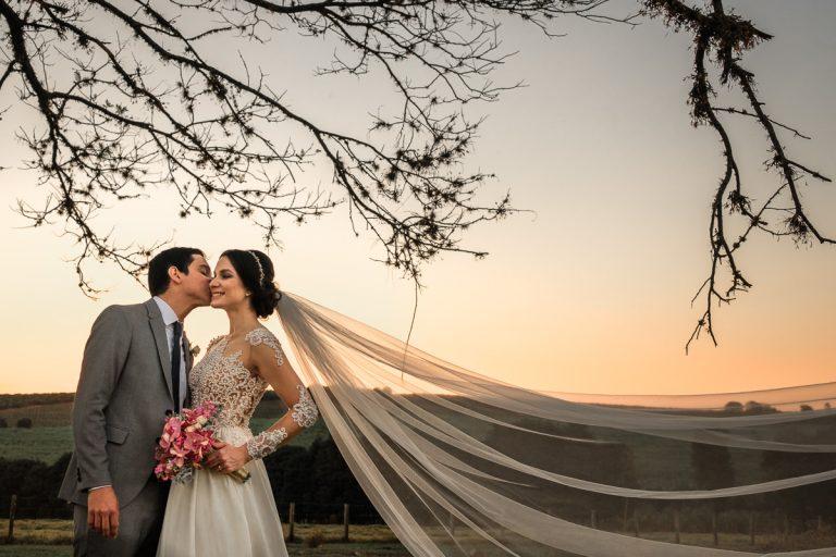 No Campo, Elegante e Pink – Casamento Aline e Lucas
